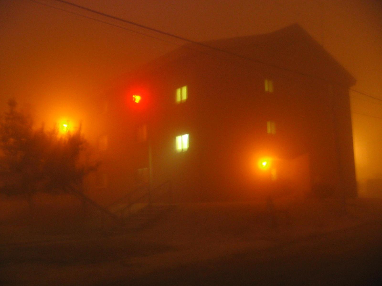 Foggy Barracks by zostix
