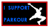 I Support Parkour Stamp by yo-soy-tu-diox