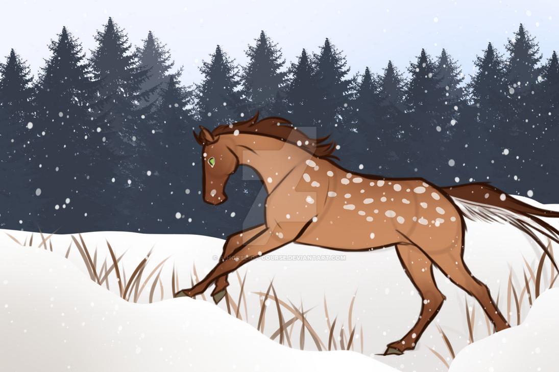 Snow Day! by a-horse-of-course