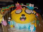Adventure Time cake 2