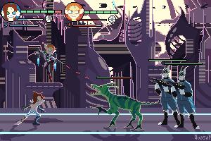 Pixel game by QuasariusCyborg