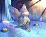 Moth Pearl by QuasariusCyborg