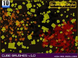 CUBE BRUSHES v1.0 by brandmystyle