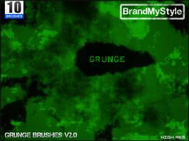 GRUNGE BRUSHES v2.0 by brandmystyle