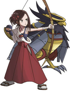 13. Elite Four Flying Type-  Yuko - Aerialregis