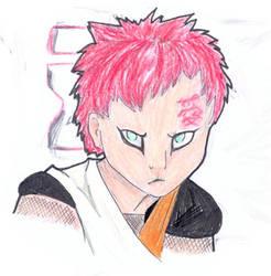 Gaara-san cat-lie-face by zhenyalynxess