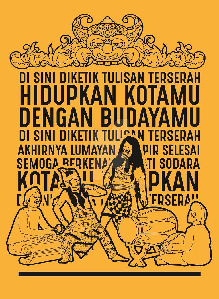 Poster Budaya Konsep by benzwan on DeviantArt
