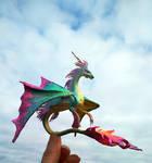 Sea dragon. Water elemental dragon.