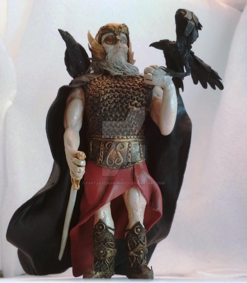 Norse mythology. Odin with ravens. by FantasyIznakurnozh ...
