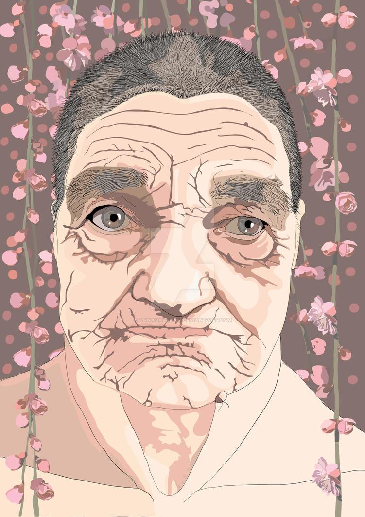Portrait by annabalaban