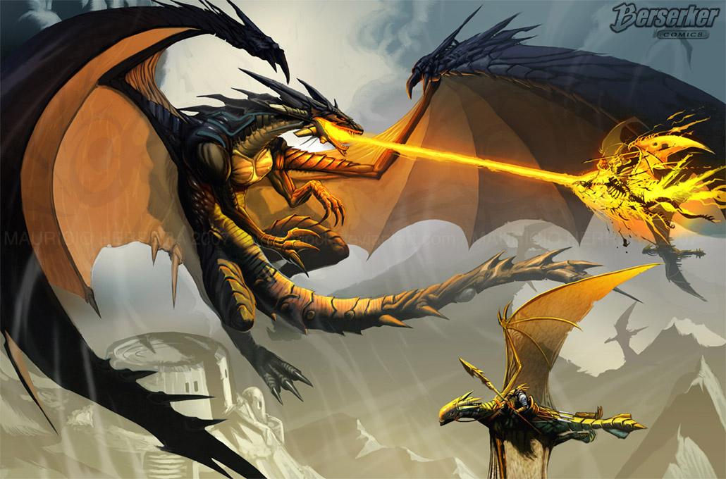 [Juego]Postea una imagen que venza la anterior! - Página 5 __Black_Dragon_Attack___by_BerserkerComics