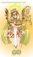 Goddess of Fertility (adopt) by Youngdemon