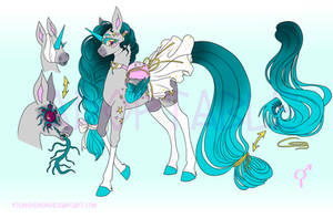Secret Monster Pony (adoptable) by Youngdemon