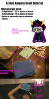Homestuck Eridan/RoxyScarf Tutorial