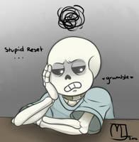 Fan Art- Stupid reset... by Little-Noko