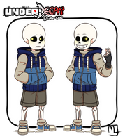 Underdecay- Sans by Little-Noko