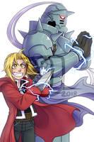 Print- Fullmetal alchemist by Little-Noko