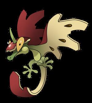 Pokemon redesign- Flapple