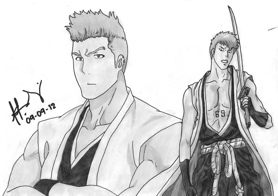 Muguruma Kensei by GrimmjawJack on DeviantArt