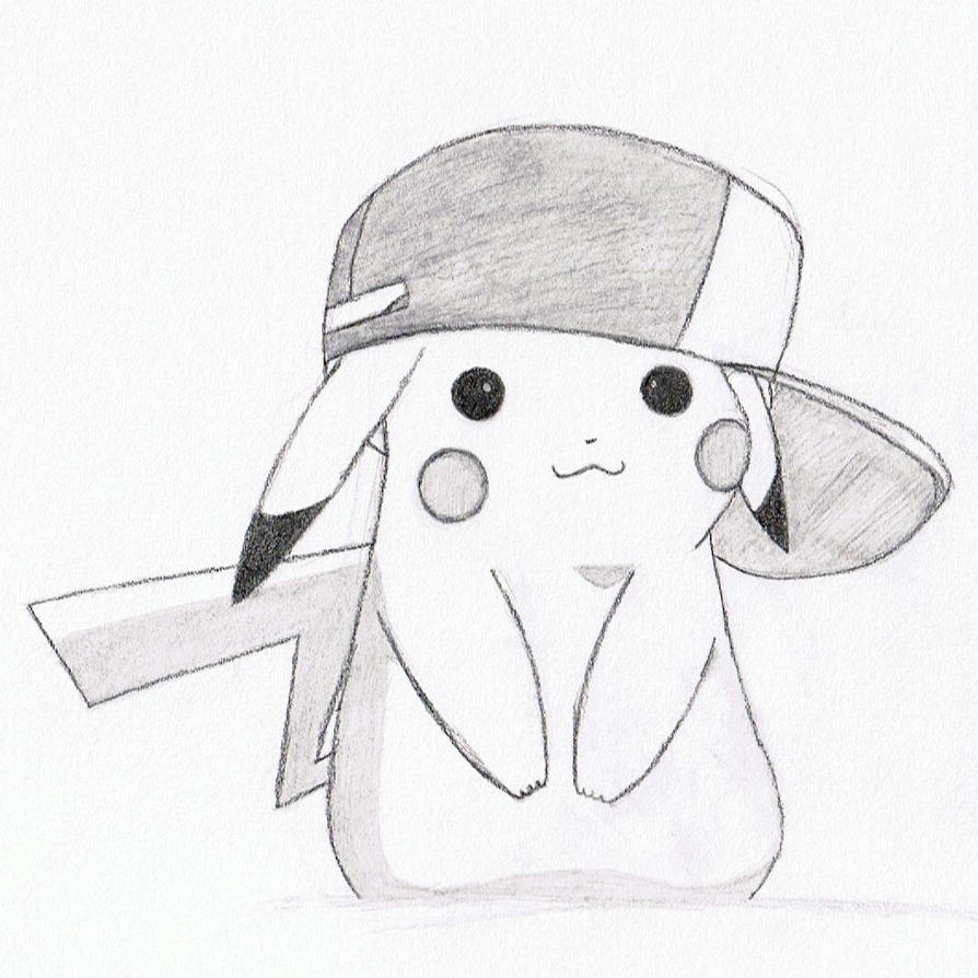Pikachu with ashs hat by demifitzherbert on deviantart pikachu with ashs hat by demifitzherbert thecheapjerseys Image collections