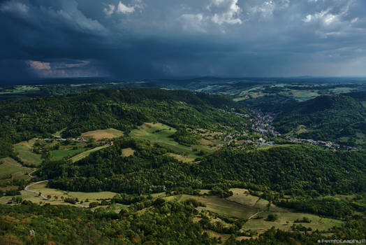 View from Mont Poupet