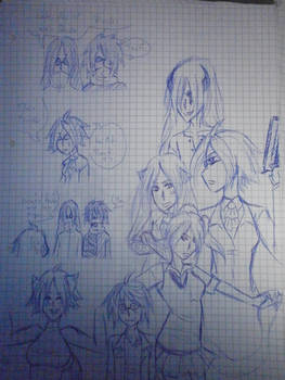 Asyl 13 doodles