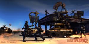 Ready to drive - version 2 - Wasteland 2 fan-art
