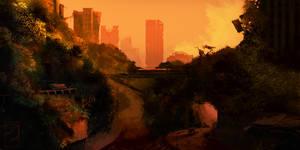 Jungle of Newport - Wasteland 2 fan art