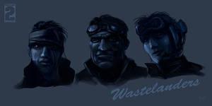 Wasteland 2 - New wastelanders set