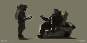 War Thief: The Adventures Begin - Concept-art by Weilard