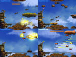 Sky Defender Screens 1 by Weilard