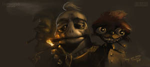 Smokers by Weilard