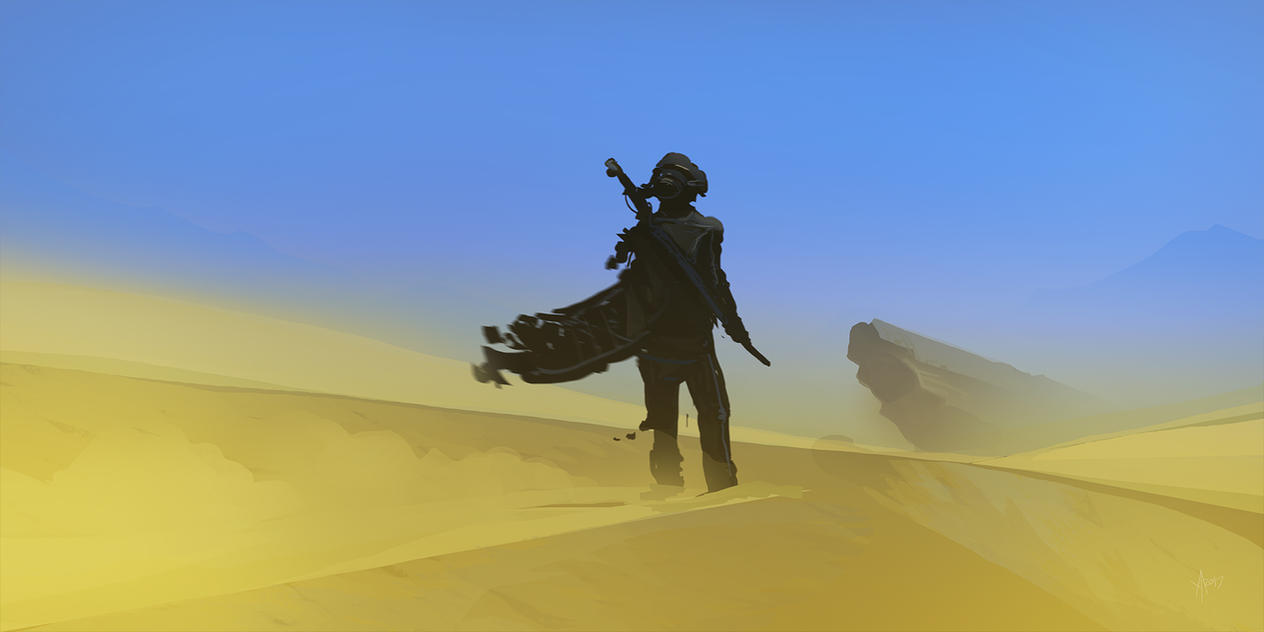 Desert walker by Weilard