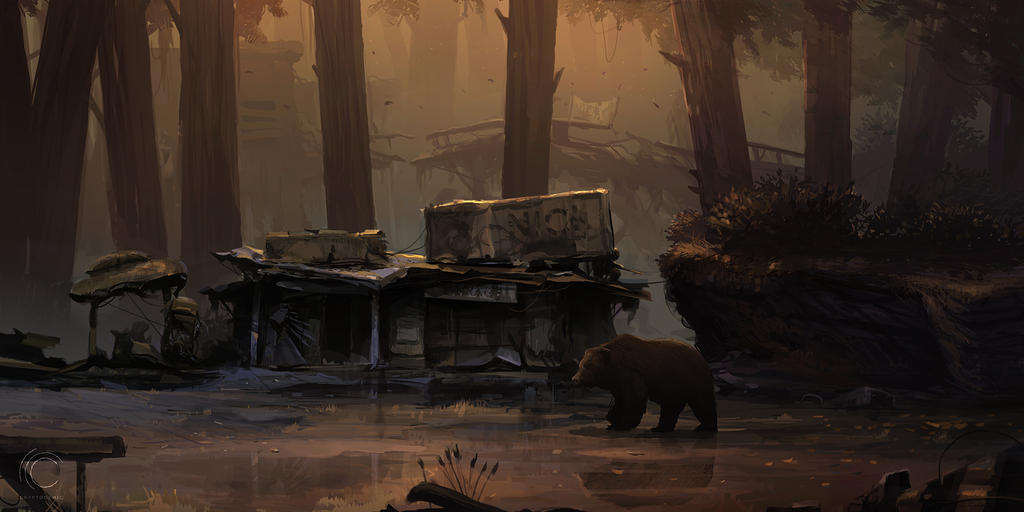 Swamp Forest by Weilard