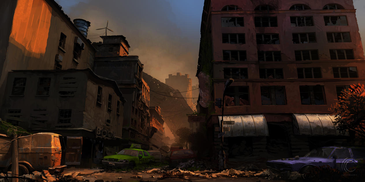 Abandoned City by Weilard