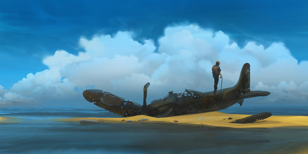 Zero and Pilot by Weilard