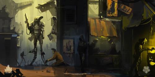 Encased - City Streets - Atmospheric