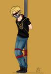 Jaune Arc Blindfold