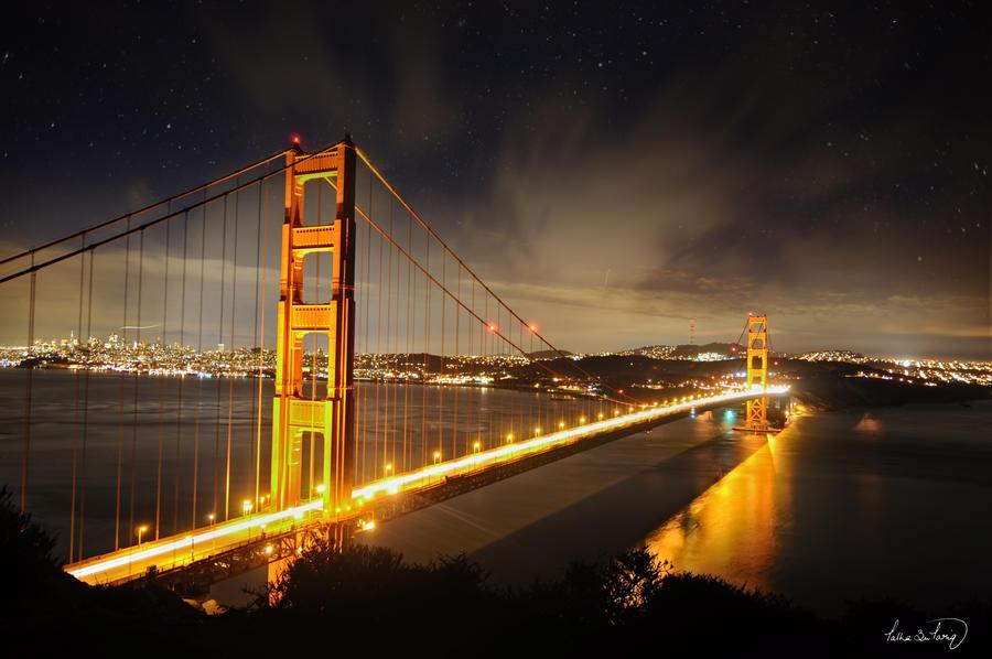 10 Seconds at Golden Gate Bridge
