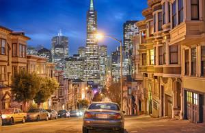 San Francisco Skyline XII by tt83x