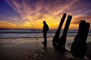 Sunset @ Fort Funston by tt83x