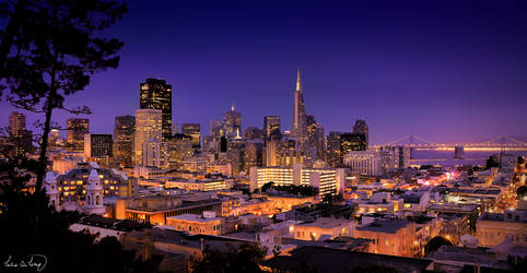 San Francisco Downtown by tt83x