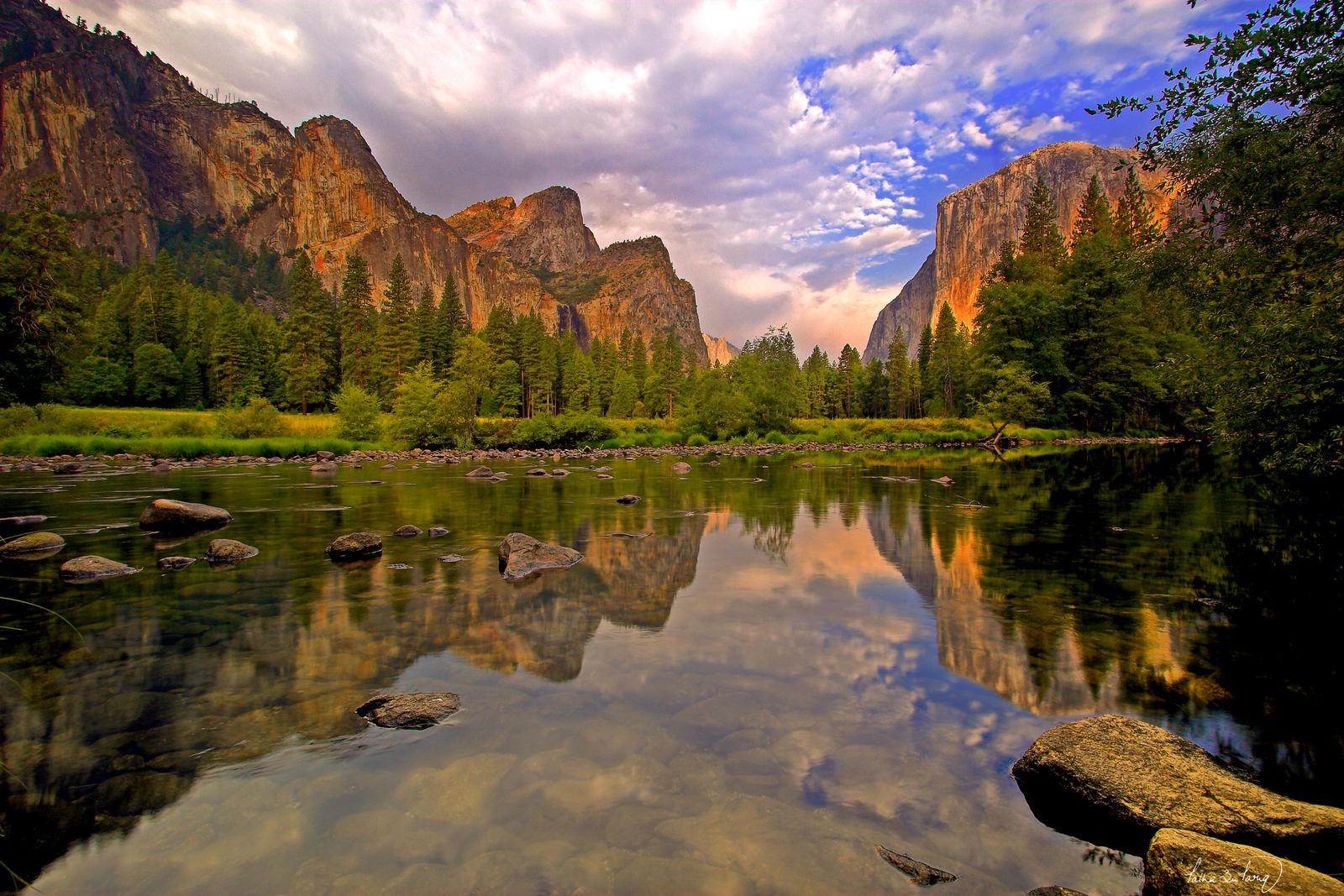 Yosemite Valley by tt83x