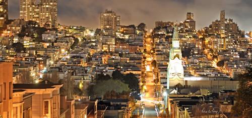 Telegraph Hill - San Francisco by tt83x