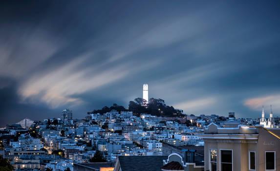 San Francisco Skyline / Coit Tower