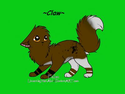 Claw's OC by peachy11060