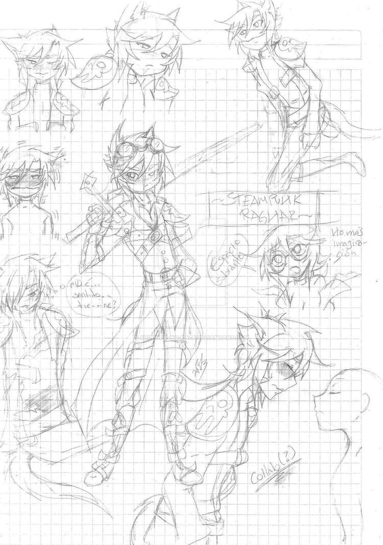 And more Ragnar doodles by Shinkiro-no-Kaze