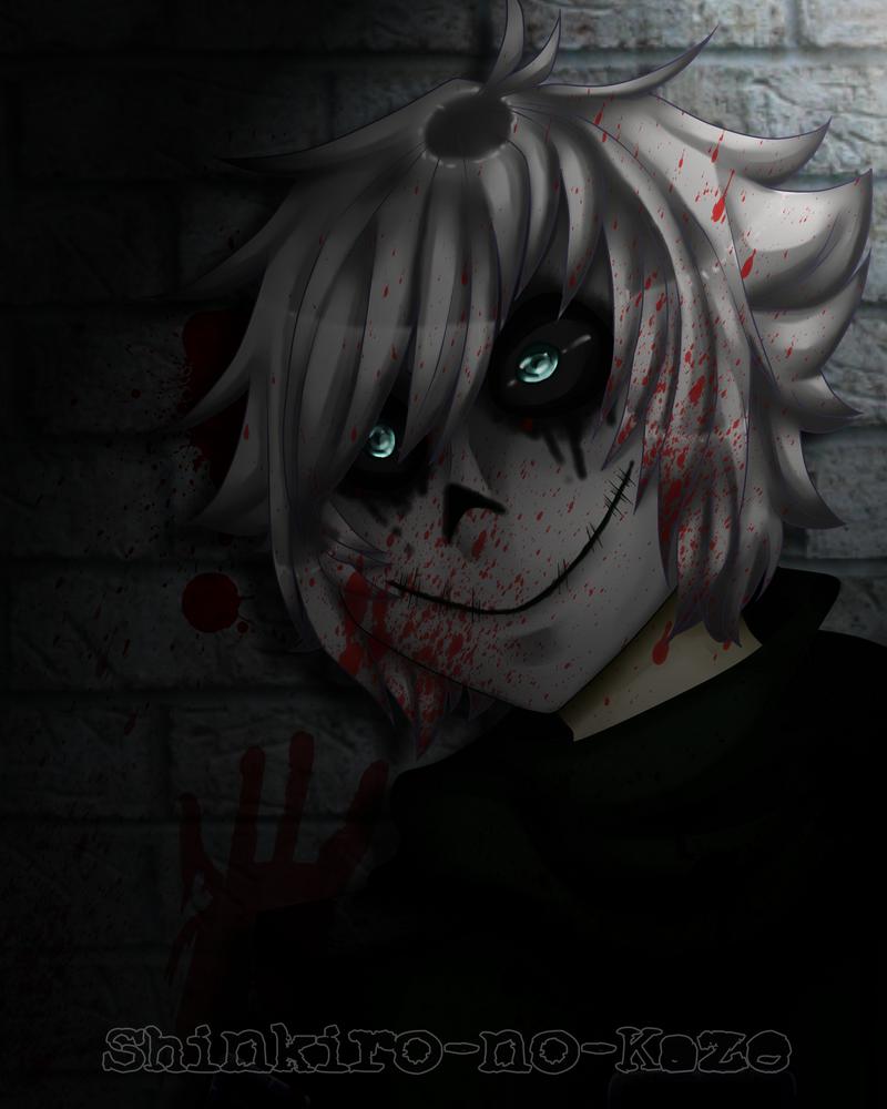 The Mask of Fear - Re-make + Speedpaint by Shinkiro-no-Kaze