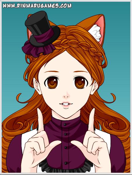 . Zerina created on Rinmaru Games Anime Creator by DusktheNightmaren
