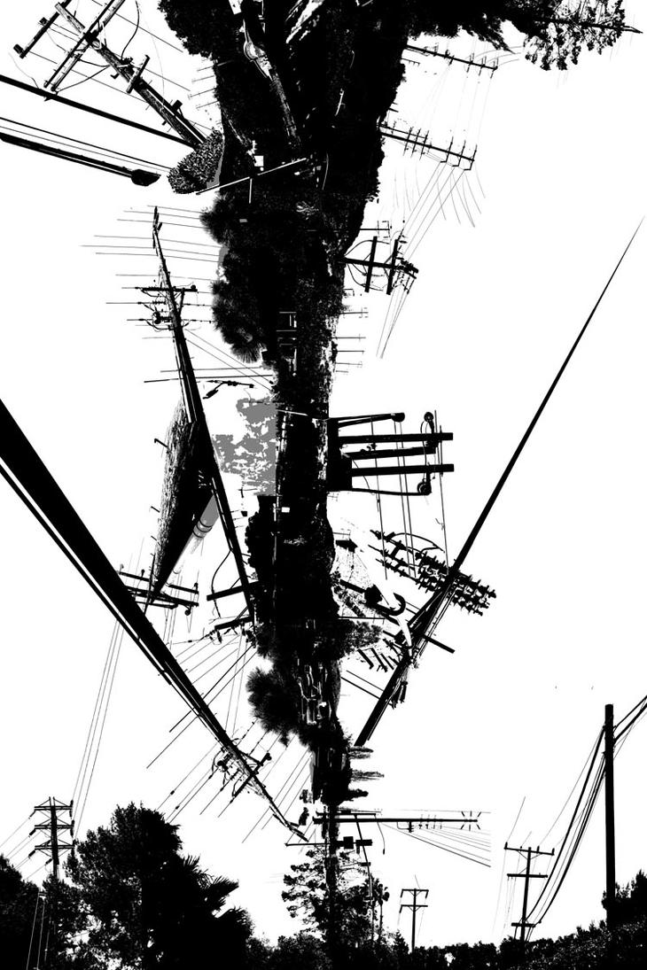 Phot07 - Telepoles. by princepoo